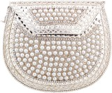 Halowishes Women Party Silver  Clutch