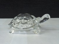 De Vedic Crystal Turtle Tortoise for Feng Shui Vaastu Gift Career, Luck, Money and Wealth Showpiece  -  10 cm best price on Flipkart @ Rs. 159