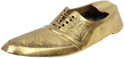 Pioneerpragati Boutique Shoe Gold Brass Ashtray