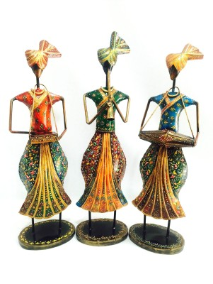Shivay Arts Tribal Turban Musicians Showpiece  -  47 cm
