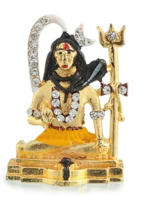Divine Gifts & Artificial Jewellery Shanker Golden Small Showpiece  -  4 cm