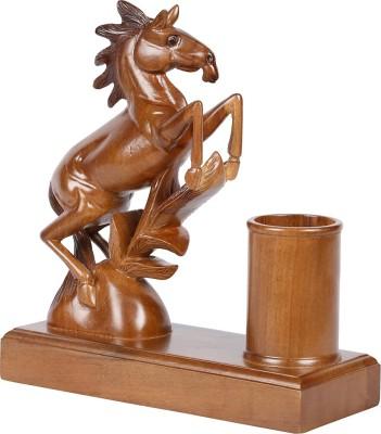 Furncoms Horse Pen Stand Showpiece  -  20 cm