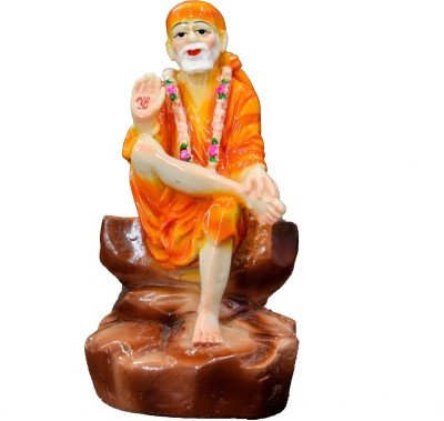 THE HOLY MART SAI BABA LARGE Polyresin Home Temple