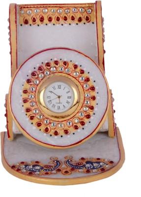 Kaku Overseas Marble mobile watch stand Showpiece  -  11 cm