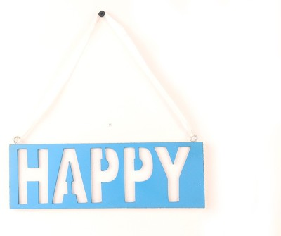 Casa Decor Happy Sign Showpiece  -  8 cm