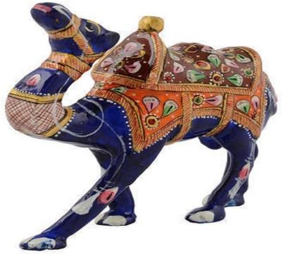 MARIYAM Meenakari Work camel Showpiece  -  10 cm
