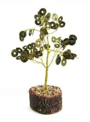 7 Ocean Feng Shui Coins Tree Showpiece - 20 cm(Stoneware, Copper)