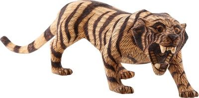 Furncoms Tiger Standing Xxxl Showpiece  -  21 cm