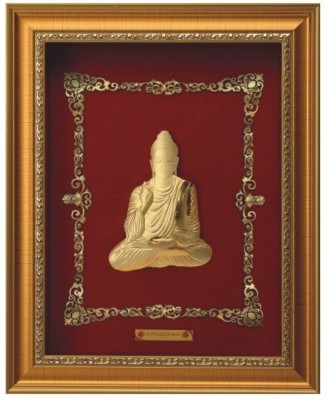 Aarya 24kt Mini Buddha Showpiece  -  27 cm