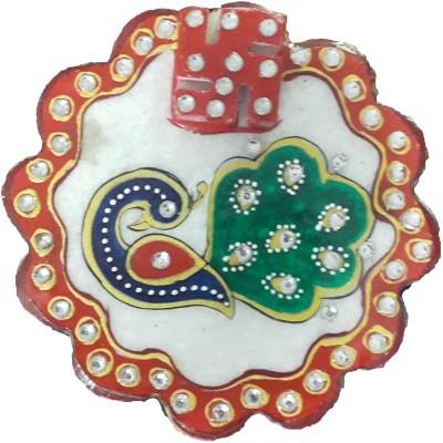 Ravishing Variety Marble Chopra Showpiece  -  10 cm