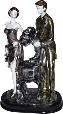 Gift-Tech Romantic Couple Statue Gift For Your Love Showpiece  -  30 cm