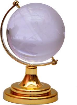 Vashoppee Vastu / Feng Shui / Crystal Globe for protect negetive vibrations Showpiece  -  8 cm