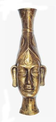 New Life Enterprise Terracotta Mask Showpiece  -  30 cm