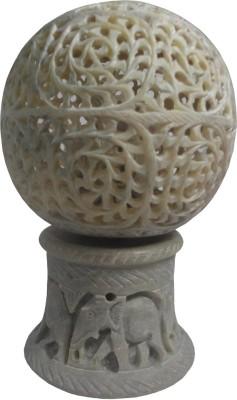 Avinash Handicrafts Stone Moving Ball 17 cm Showpiece  -  17 cm