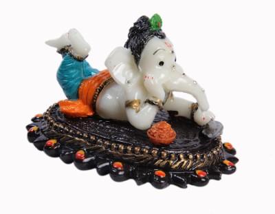 Artcraftindia Lord Ganesha Showpiece  -  7.5 cm
