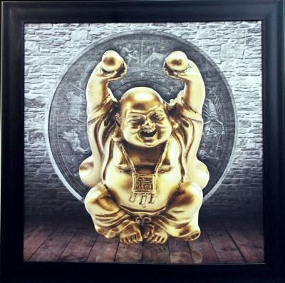 eCraftIndia Laughing Buddha Showpiece  -  35 cm