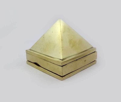 Sitare Premium 311 grams Ashtadhatu Pyramid vaastu for Health and Prosperity Showpiece  -  4 cm(Gold, Silver, Copper, Zinc, Iron, Gold)