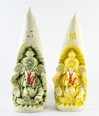 GiftsCellar Panchdhatu Ganesh Ji Showpiece  -  25 cm