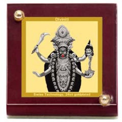 Sitare Goddess kali Swizz Made 24 kt Gold Foil Showpiece  -  6.0 cm
