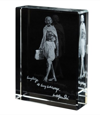 Eternal Gandhi Walking Mark II Showpiece  -  8 cm