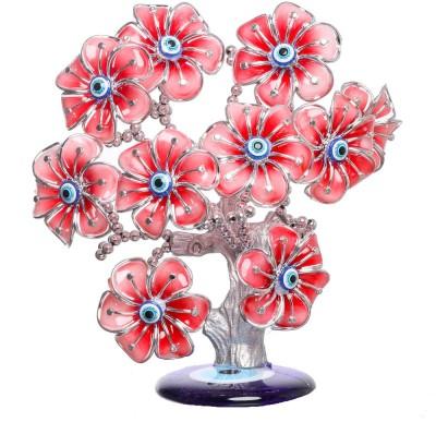Geetanjali Decor Showpiece - 19 cm(Plastic, Pink)