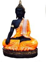 Om Arts Buddha Showpiece  -  28 cm(Polyresin, Multicolor)