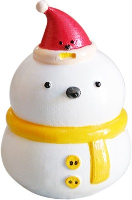 Fancy Interio Crazy Snowman Showpiece  -  7.6 cm