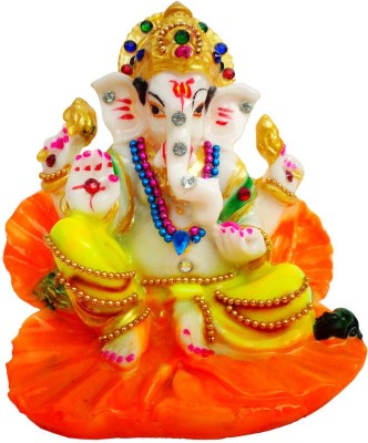 Indian Traditional Stores Lord Ganesha Showpiece  -  10 cm