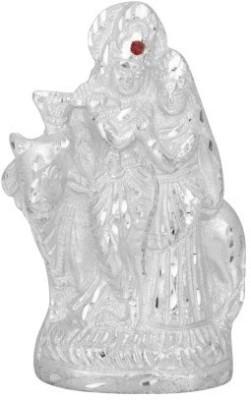 Divya Mantra Radha Krishna Idol Showpiece  -  10 cm