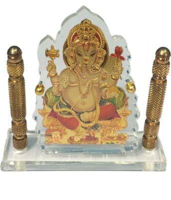 Cardressers Crystal Ganesh Showpiece  -  14 cm