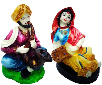 Indian Traditional Stores Rural Showpiece Showpiece  -  17.5 cm