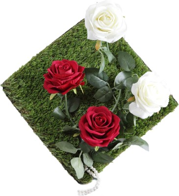 VCK Rose Flower Wall Hangings Showpiece  -  20 cm