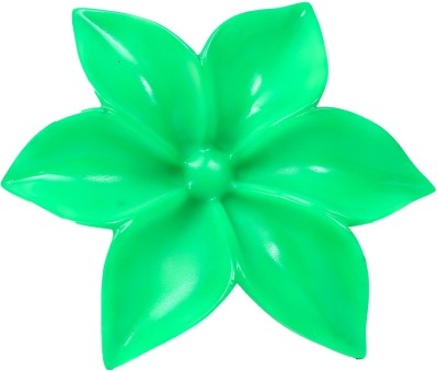 Eternity Wall mounted flower Showpiece  -  5 cm(Ceramic, Green)