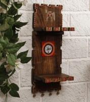 Unravel India Showpiece  -  14.5 cm(Wooden, Brown) best price on Flipkart @ Rs. 1399