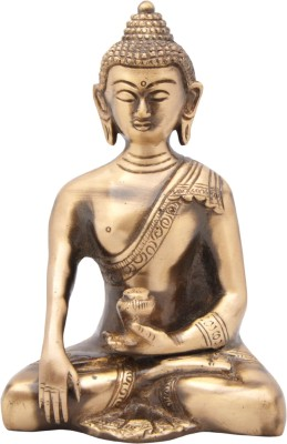Regalia Brass Medicinal Buddha Showpiece  -  11 cm