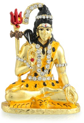 Divine Gifts & Artificial Jewellery Shanker Golden Showpiece  -  7.5 cm