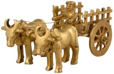 Being Nawab Exquisite Bullock with Open Cart Showpiece  -  13 cm