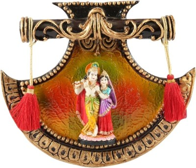 Aica Showpiece  -  20 cm(Microfibre, Wooden, Multicolor)