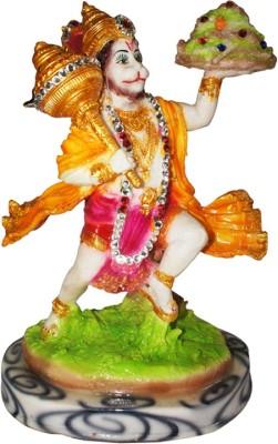 Dharmaraj Links Bajrangbali With Crystal Decoration Showpiece  -  30 cm