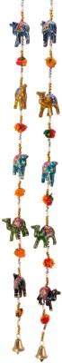 HanumantCreations Handcraft Rajasthani Camel Door Hanging - Set Of Showpiece  -  100 cm