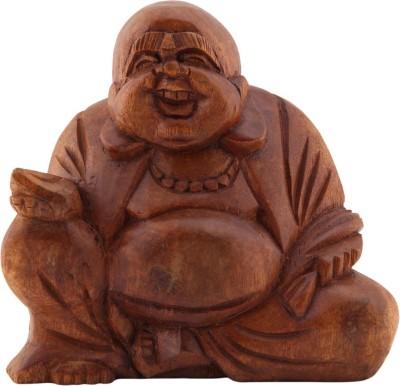 Furncoms Happy Buddha Large Showpiece  -  42 cm