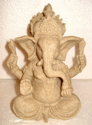 Fusion Gallery Lord Ganesha Showpiece  -  12 cm