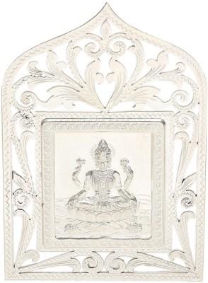 Osasbazaar BIS Hallmarked 925 Sterling Silver Laxmi Idol Showpiece  -  7.5 cm