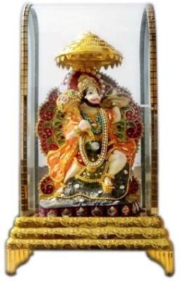 Shree Krishna Handicrafts And Gallery Hanumanji Intouch Cabinet Showpiece  -  26 cm