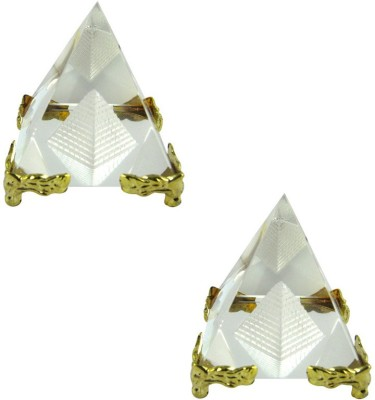 Shakti Education Pyramid Combo of 2 For Academic Success For Child's Study Table Showpiece  -  5 cm