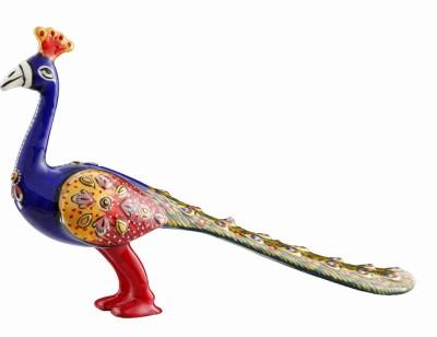 Aashirwad Walking Peacock Showpiece  -  3 cm