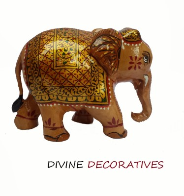 Divinecrafts Decorative Elephant Showpiece Statue Showpiece  -  8 cm