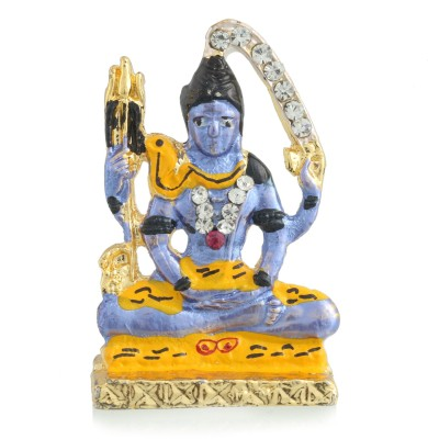 Divine Gifts & Artificial Jewellery Shanker Blue Small Showpiece  -  4 cm