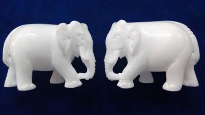Unique Handicrafts elephanto Showpiece  -  7.5 cm