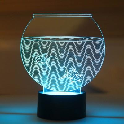 Lab No. 4 Aquarium Showpiece  -  17.5 cm
